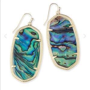Kendra Scott Danielle Earrings in Abalone Shell